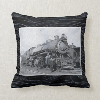 B&O Steam Engine 4013 Throw Pillow