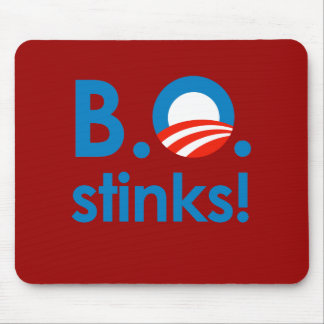B.O. Stinks / Anti-Obama Mouse Pads