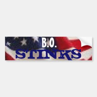 B.O., STINKS BUMPER STICKER