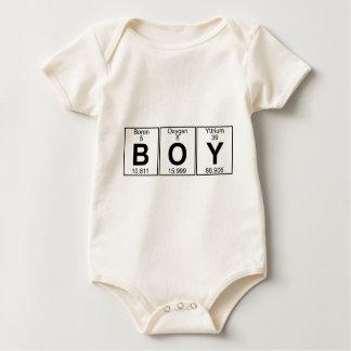 B-O-Y (boy) - Full Baby Bodysuit