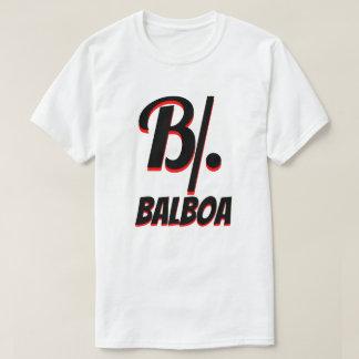 B/. Panamanian balboa white T-Shirt