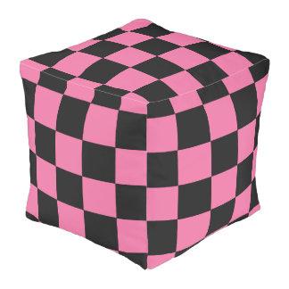 B+Pk Checker Cube Bean Bags Pouf