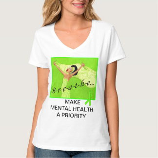 B-r-e-a-t-h-e / Mental Health Awareness Tees