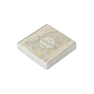 B&R State Mississippi Stone Magnet