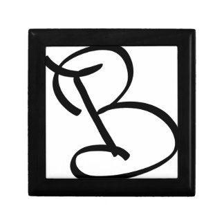 B SMALL SQUARE GIFT BOX