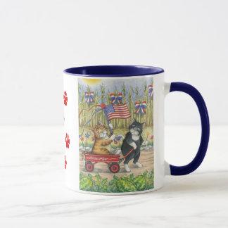 B & T #19 Patriotic Mug