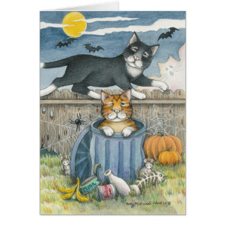 B & T #33 Halloween Note Card