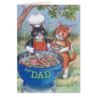 B & T #85 Father's Day BBQ Notecard