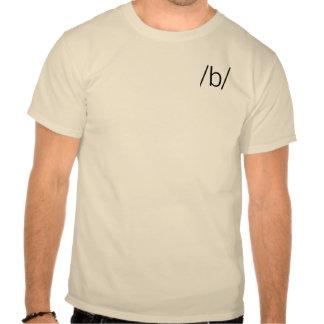 b tee shirt