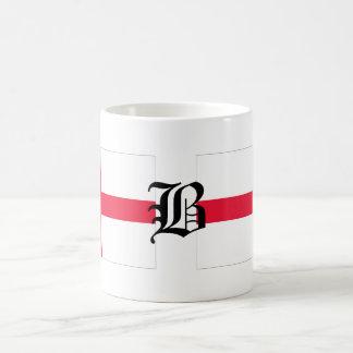 B-text English-Flag Basic White Mug