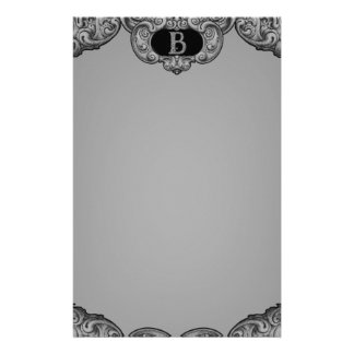B - The Falck Alphabet (Silvery) Stationery