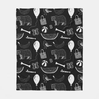 B-things Fleece Blanket