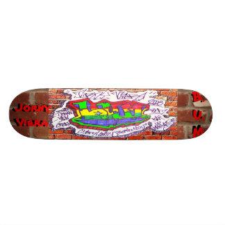 B.U.M Team Deck: Jorny Viera 21.6 Cm Skateboard Deck