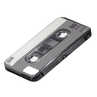 B W 1980s Vintage Cassette iPhone 5 Case