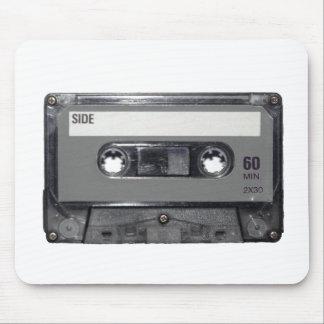 B&W 1980s Vintage Cassette Mouse Pad