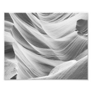 B&W Antelope Canyon 5 Photo Print