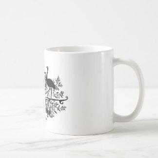 B/W Australia Coat Of Arms Coffee Mug