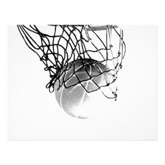 B&W Basketball Flyer