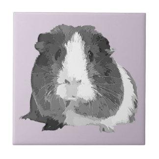 B&W 'Betty' Guinea Pig Tile