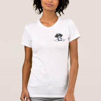 B/W Cockapoo Pocket Puppy T-Shirt