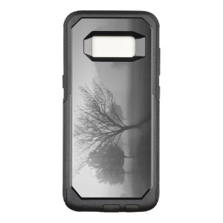 B&W Foggy Morning Sunrise OtterBox Commuter Samsung Galaxy S8 Case