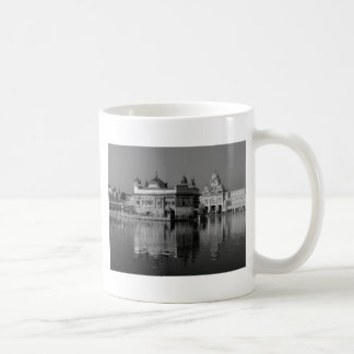 B&W Golden Temple in India Coffee Mug