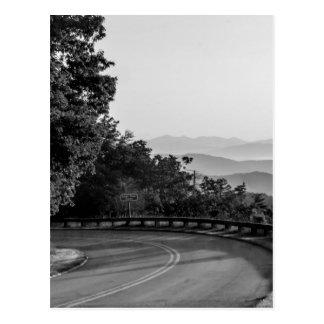 B&W Great Smoky Mountains 2 Postcard