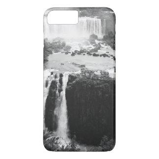B&W Iguazu Falls iPhone 7 Plus Case