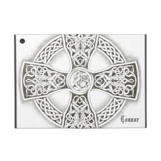 B&W Irish Celtic Cross Ipad Mini Case