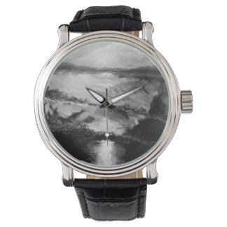 B&W Men's Sunset Watch