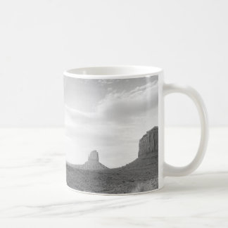 B&W Monument Valley 4 Coffee Mug