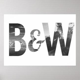 B&W POSTER