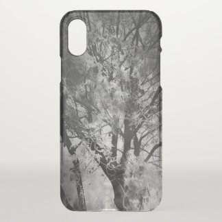 B & W Tree Branches. iPhone X Case
