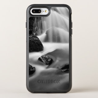 B&W waterfall, California OtterBox Symmetry iPhone 8 Plus/7 Plus Case