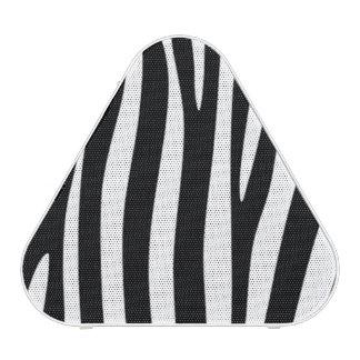 B&W Zebra Stripes Portable Speakers Bluetooth Speaker