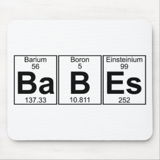 Ba-B-Es (babes) - Full Mouse Pad