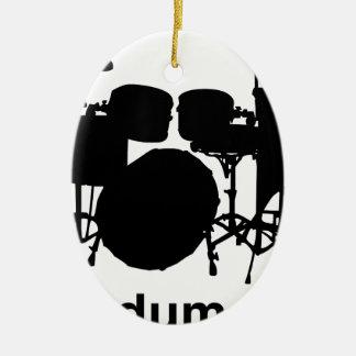 Ba Dum Tss Ceramic Ornament