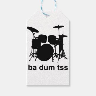 Ba Dum Tss Gift Tags