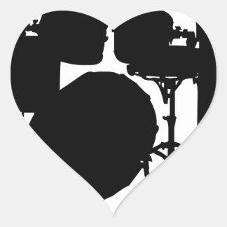 Ba Dum Tss Heart Sticker