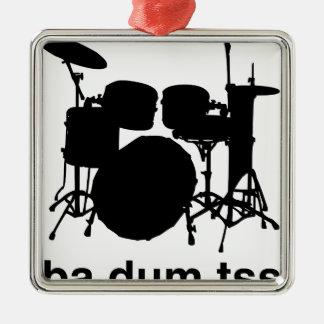Ba Dum Tss Metal Ornament