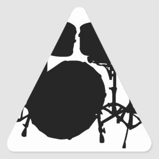 Ba Dum Tss Triangle Sticker