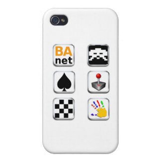 BA.net iGames - Apple Icons Cover For iPhone 4