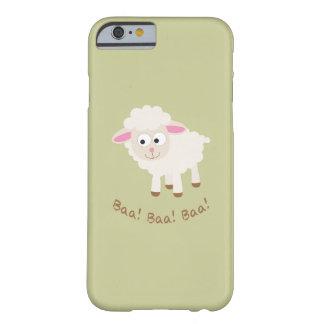 Baa! Baa! Baa! Cute Little Lamb Barely There iPhone 6 Case