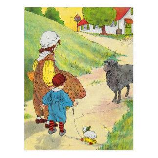 Baa baa black sheep Have you any wool Post Cards
