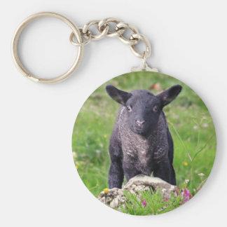 Baa-Baa Black Sheep Keyring
