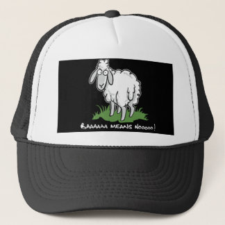 Baa means no trucker hat