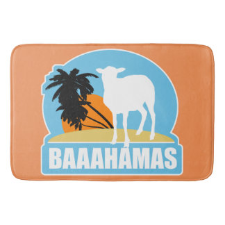 Baaahamas Beach Bath Mat