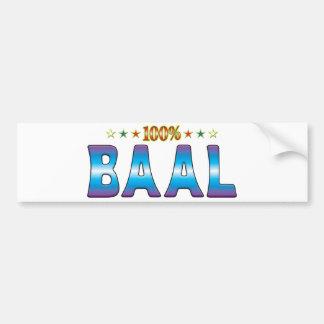 Baal Star Tag v2 Bumper Stickers