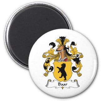 Baar Family Crest Magnet