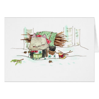 Baba Mouse Greeting Card